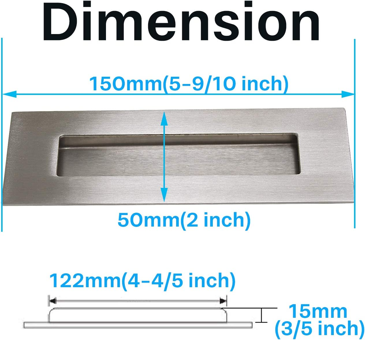 sourcing map Outside Caliper 300mm 12 Inch Firm Joint Stainless Steel Measuring Tool