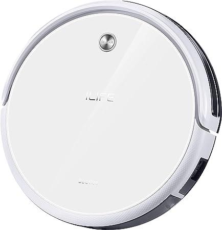 ILIFE A40 – Robot aspirador con sistema de limpieza CyclonePower con diversos modos de aspiración – Limpieza profunda de alfombras y todo tipo de suelos – Color ivory white: Amazon.es: Hogar