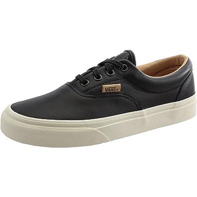 17b03acceb ... Vans Mens Ua Era Black Leather Adult Trainers Black 3 UK Buy Online at  Low Prices ...