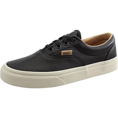 27d33713a4c5 Vans UA Era Black Leather 4 M US Men   5.5 M US Women