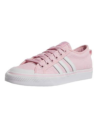 adidas Damen Sneaker Nizza Sneaker CQ2539 rot 476962: Amazon ...