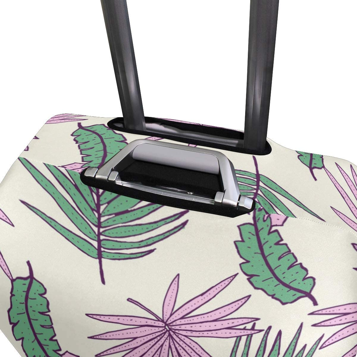 18//22//26//29 Inch Travel Suitcase Luggage Protective Cover with Wild Plants