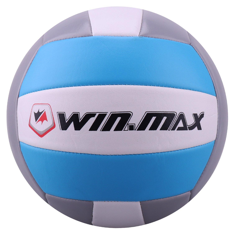 Molee Beachvolleyball, Volleyball, Beach und Funball Größe 5 Weicher Ballkontakt