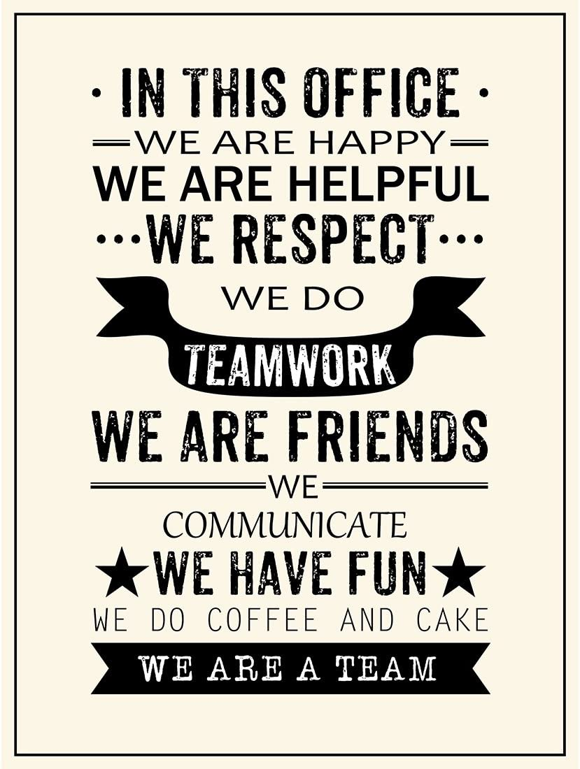 Coffee Time Motivational Inspirational Love Postive Quote Poster Wall