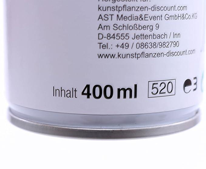 Kunstpflanzen Discount uv protection spray 400 ml colourless specimen and silk flowers
