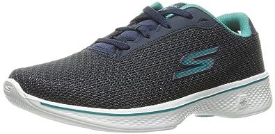 Skechers 14175, Damen Sneakers, Grau - Grau - Größe: 35,5 EU