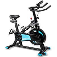 Alvorog Indoor Cycling Stationary Exercise Bike with LCD Monitor