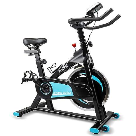 Alvorog Bici Da Spinning Professionale Spin Bike Con Monitor Lcd