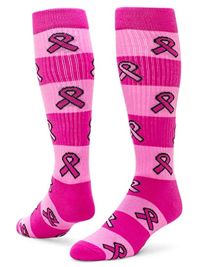 692e460cb Red Lion Ribbon Rugby Knee High Sport sock ( Pale Pink   Neon Pink - Medium