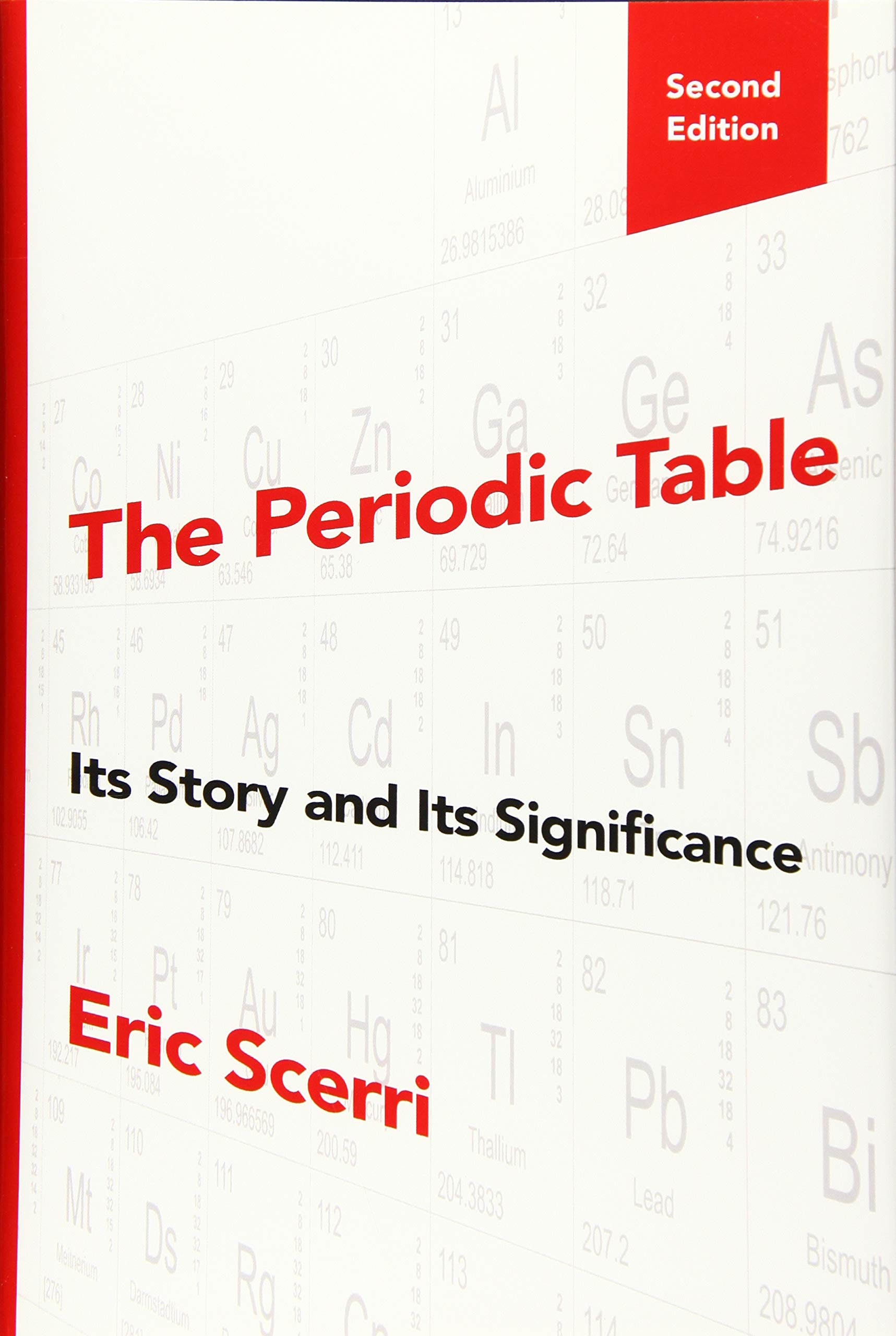 The Periodic Table Its Story And Its Significance Scerri