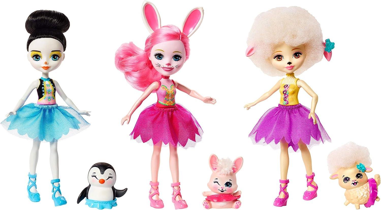 Enchantimals - Pack de 3 muñecas ballet - (Mattel FRH85)