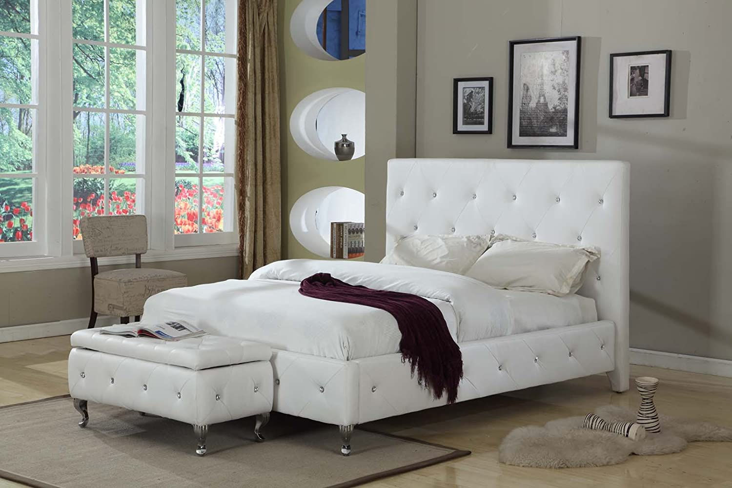 medium bed platform image dorado tufted basel el furniture dias queen images white alternate of