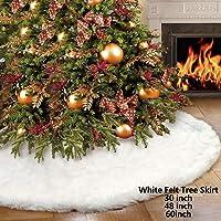 iMucci Falda de árbol de Navidad, 78CM Adornos