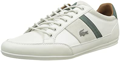 80de3db4662 Lacoste Men s Chaymon 417 1 Cam Off Low-Top Sneakers