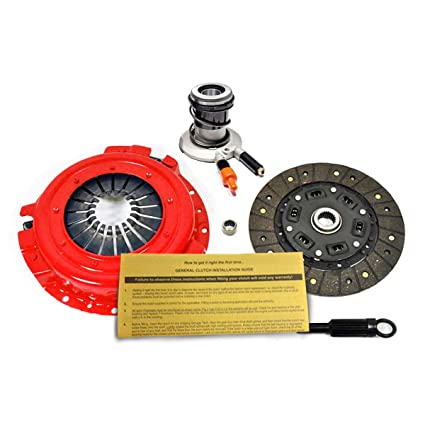 Amazon.com: EFT STAGE 1 CLUTCH KIT+ SLAVE FORD RANGER BRONCO II AEROSTAR 2.0L 2.3L 2.9L 3.0L: Automotive