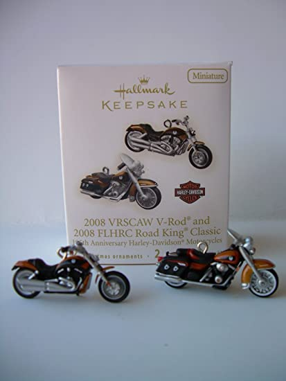 QXM8101 2008 VRSCAW V Rod And FLHRC Road King Classic 105th Anniversary Of Harley
