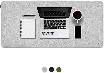 Schreibtischauflage // Dunkelgrau 100 cm x 50 cm Filzmatte Unterlage Schreibtisch FORMGUT Schreibtischunterlage aus Filz 100 x 50 // B/üro Unterlage aus Filz antirutsch Unterlagen Filzunterlage