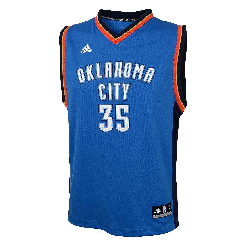 49ec91729f91 Amazon.com   NBA Oklahoma City Thunder Durant K   35 Boys 8-20 Replica Road  Jersey