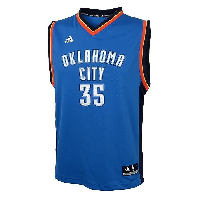 aa753b8d1 NBA Oklahoma City Thunder Durant K   35 Boys 8-20 Replica Road Jersey