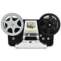 Film Scanner Super 8 - Normal 8 Scanner Konvertiert Super 8 und Normal 8 Filme in Videos in 32 GB SD-Karte (SD-Karte ist im Lieferumfang Enthalten)