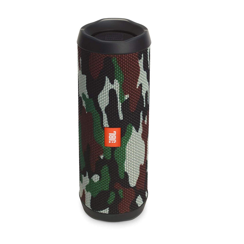 JBL Flip 4 Portable Wireless Speaker with Powerful Bass & Mic (Squad)