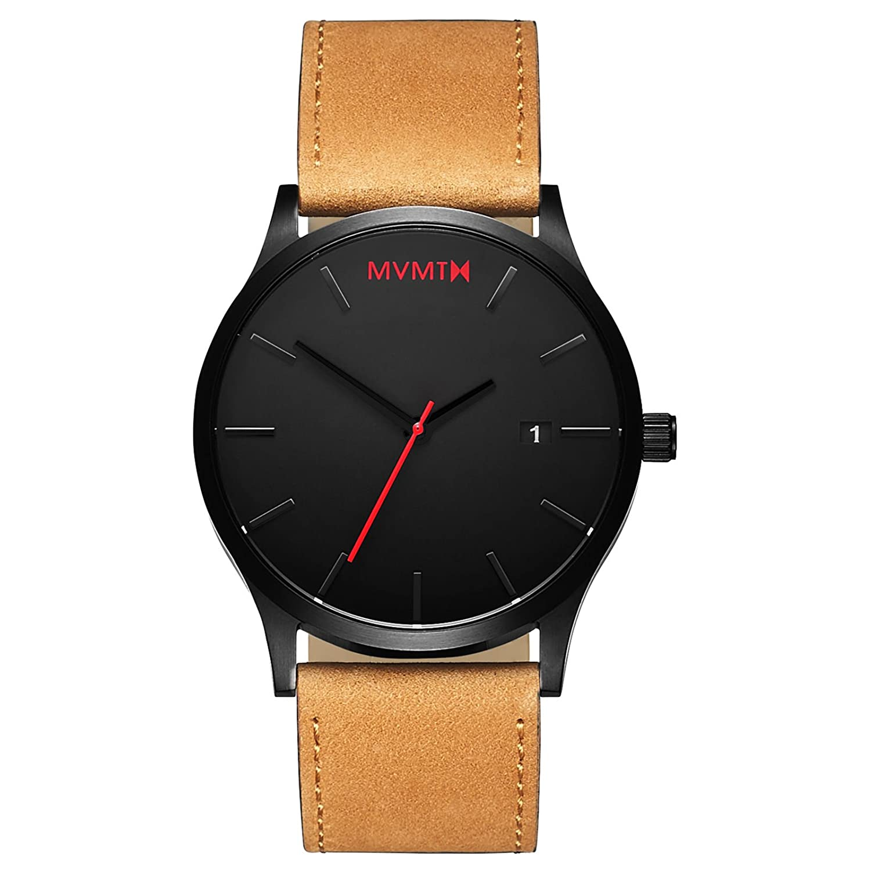 Mvmt Classic Watches | 45 Mm Men's Analog Minimalist Watch by Mvmt