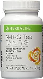 HERBALIFE NRG NATURE'S RAW GUARANA POWDER TEA 2.1 OZ
