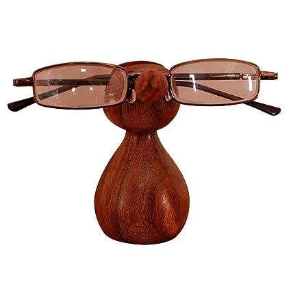 Nariz de madera expositor gafas de sol accesorio de soportes ...