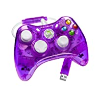 Rock Candy Controller - Purple (Microsoft Licensed) (Xbox 360)