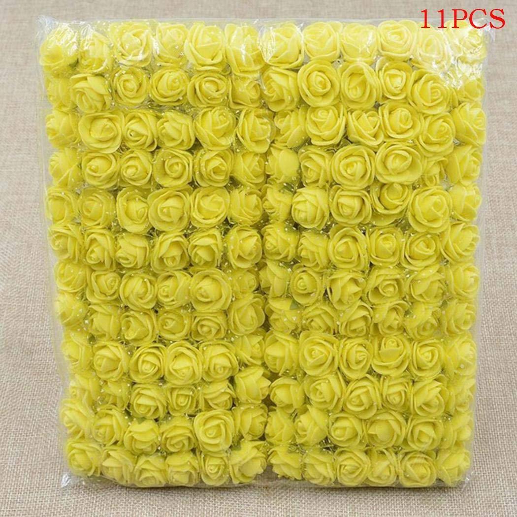 kaimus Flores Artificiales de la Espuma del PE Fake Rose Bouquet DIY Wedding Party Home Decoration Guirnaldas