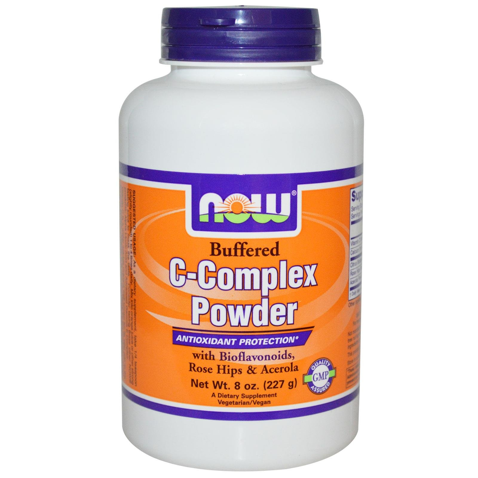 Now Foods Buffered C-Complex Powder, 227g
