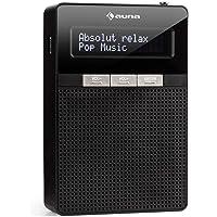 auna DigiPlug FM • Steckdosen-Radio • Radio mit RDS • UKW/PLL Tuner • Bluetooth • USB-Port • LCD-Display • integrierter Breitbandlautsprecher • schwarz