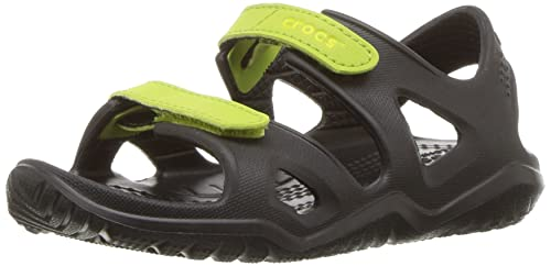 60a15085f0d2 crocs Kids Unisex Swiftwater River Sandals  Buy Online at Low Prices in  India - Amazon.in