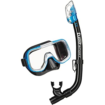 fdd8008bad2e TUSA Sport Youth Mini-Kleio Mask and Dry Snorkel Combo