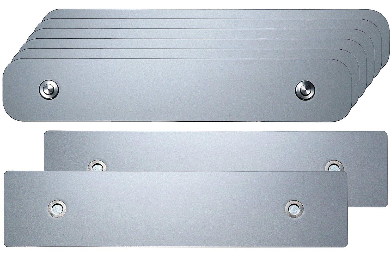 Kennzeichenhalter Wechselsystem//Wechselkennzeichen Set PKW 1-zeilig 3 Fahrzeuge TEC iConnect Set f/ür /Österreich