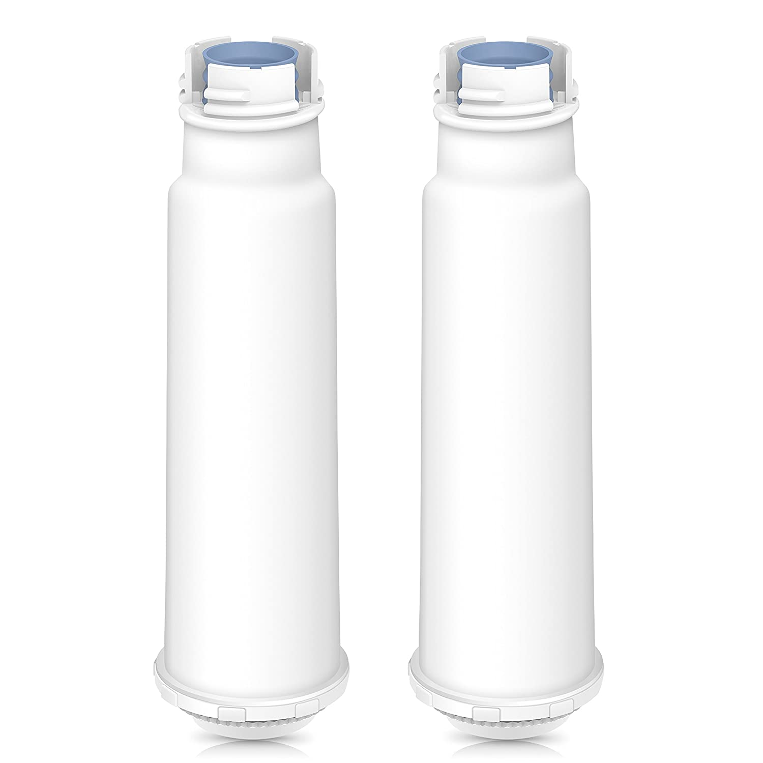 AQUA CREST TÜV SÜD Certified Coffee-Machine Water Filter Replacement for Krups Claris F088 - Including Various Models of AEG, Bosch, Siemens, Gaggenau, Nivona, Melitta, Neff, Cocoon (Pack of 2)