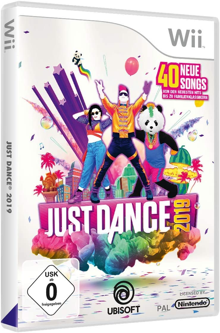 Just Dance 2019 - [Nintendo Wii] [Importación alemana]: Amazon.es ...