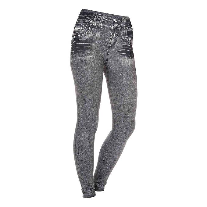 199581162d0a Pantalones Leggins Modeladores Esbelt Jeans color negro anunciados ...