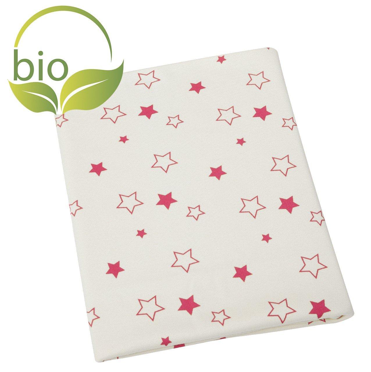 byboom/ erstling pour b/éb/é /Bio Couverture Couleur: Naturel/ /Girafe plaid 70/x 100/cm fabriqu/é en UE en 100/% coton bio avec motif couverture d/ét/é