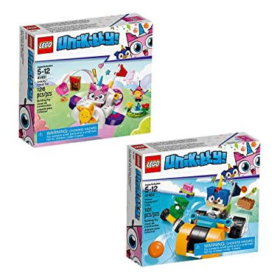 LEGO Unikitty Unikitty Bundle_2020 Building Kit, Multicolor (227 Pieces): Toys & Games