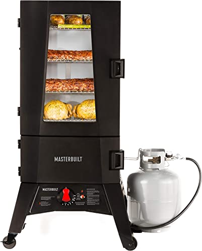 Masterbuilt-MB20051316-Propane-Smoker-with-Thermostat-Control