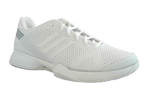 Adidas - Zapatillas de Deporte de Material Sintético Mujer, blanco (blanco), 41