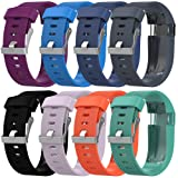 Peibo SM200 Replacement Silicone Band Rubber Strap Wristband Bracelet For Fitbit Charge HR