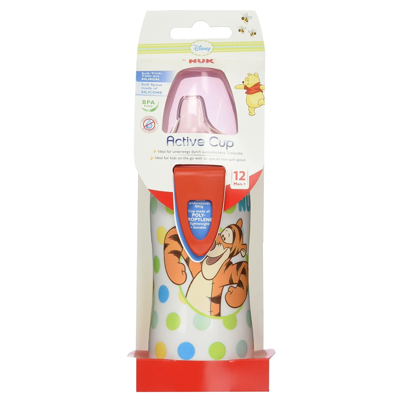 NUK 10255371 Disney Classics Kiddy Cup Dumbo harte Trinktülle auslaufsicher