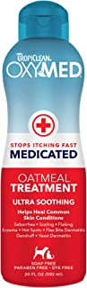 product image for TropiClean OxyMed Medicated Anti Itch Solutions for Pets - Made in USA - Stops Itching Fast - Soothing Relief and Deep Clean for Flaking, Scaling, Seborrhea, Hot Spots, Allergies, Inflammation