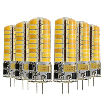 JIALUN-LED G4 5W 72LED 5730SMD 400-500 LM Blanco cálido Blanco frío lámpara