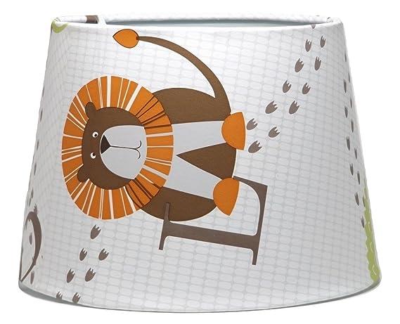 Para niños animales de la selva pantalla o para lámpara de ...