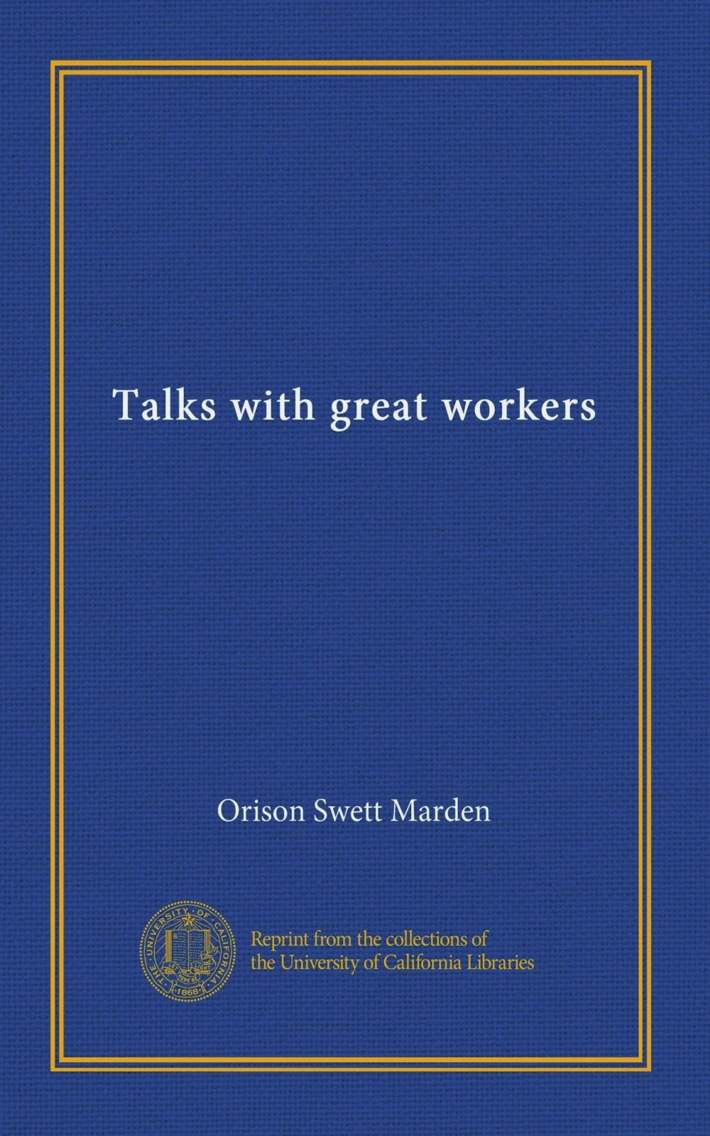 Talks with great workers PDF