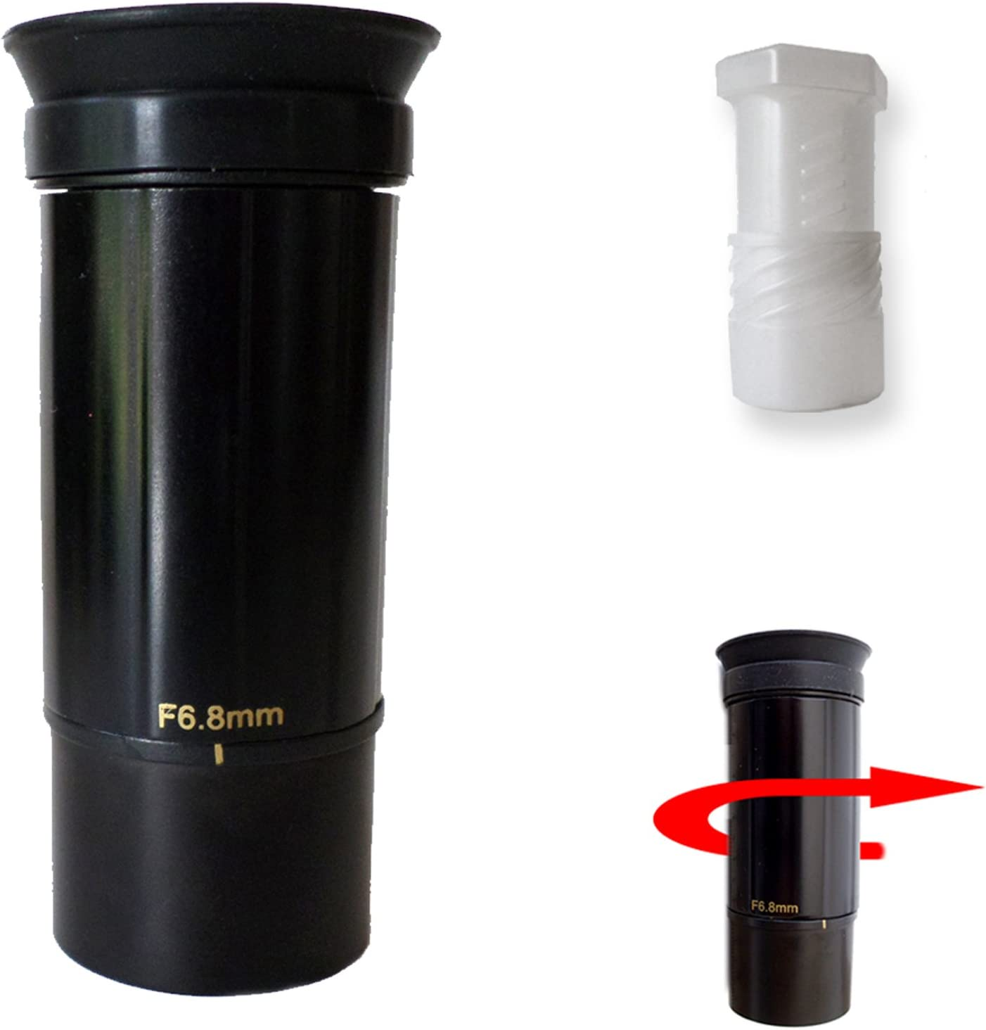 1.25 Format 6.8mm-16mm Zoom Telescope Eyepiece