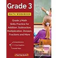 Grade 3 Math Workbook: Grade 3 Math Skills Practice for Addition, Subtraction, Multiplication, Division, Fractions and…